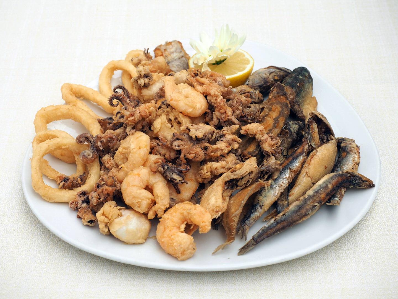 Fritto misto con pesci di Paranza